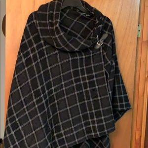 Ralph Lauren wool cape